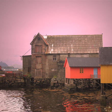 Fishermen's houses, Canon POWERSHOT A620