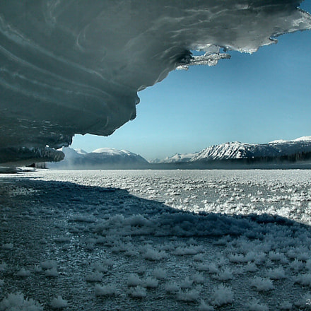 From under the ice, Nikon E5700