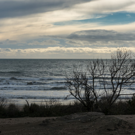 Seascape of Camargue, Sony NEX-5R, E PZ 16-50mm F3.5-5.6 OSS