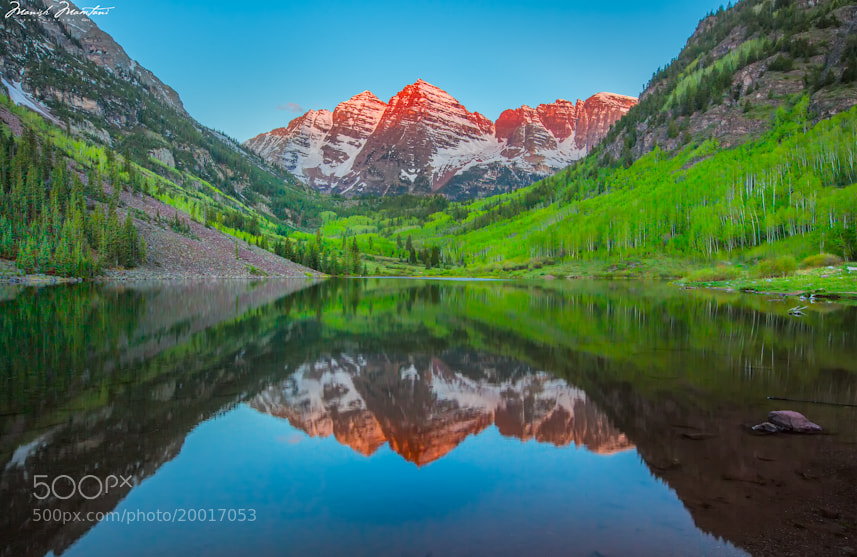 Photograph Maroon Bells by Manish Mamtani on 500px