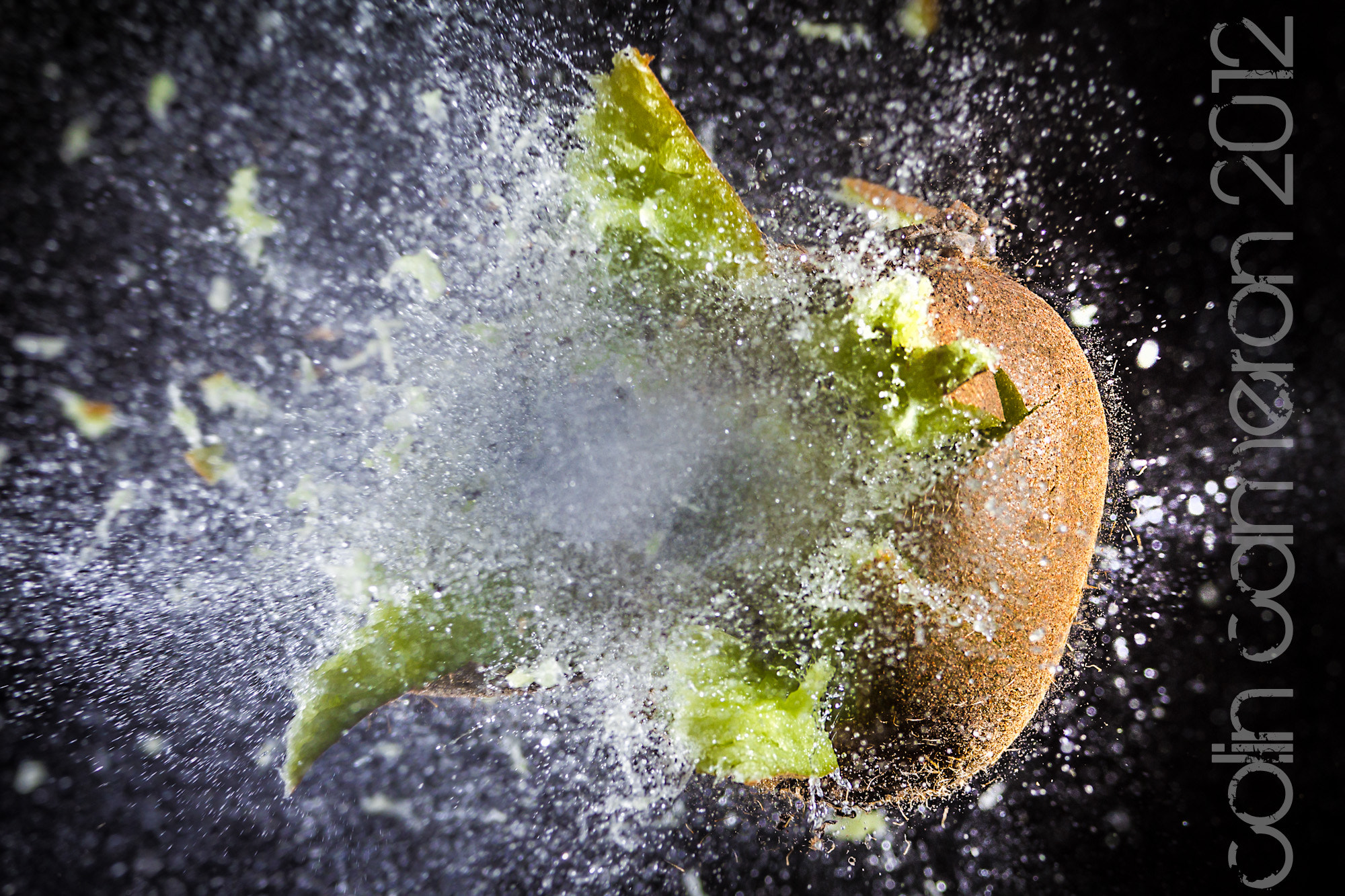 Photograph exploding kiwi by Colin Cameron on 500px
