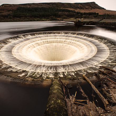 Ladybower Bellmouth Spillways 2, Canon EOS 6D