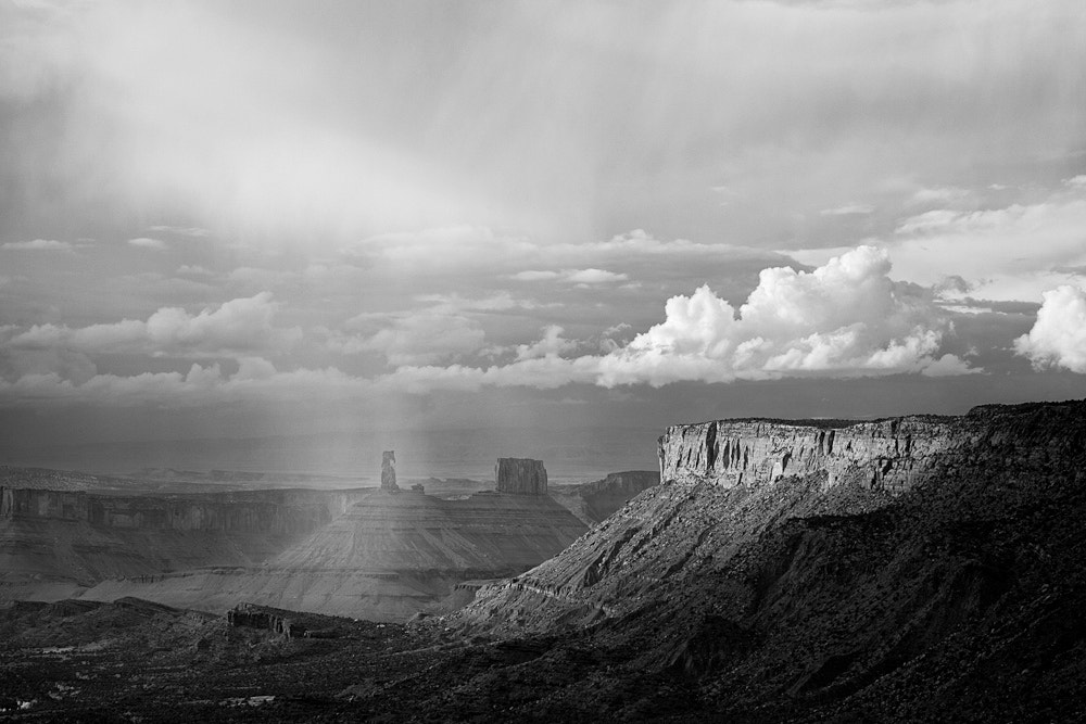 Photograph Castle Rock and Storm Clouds, Utah by Bret Edge on 500px