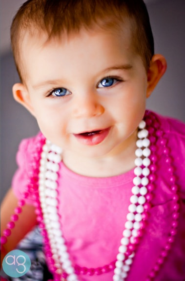 Photograph Pearls and Baby Blues  by Andrea Gibbs on 500px
