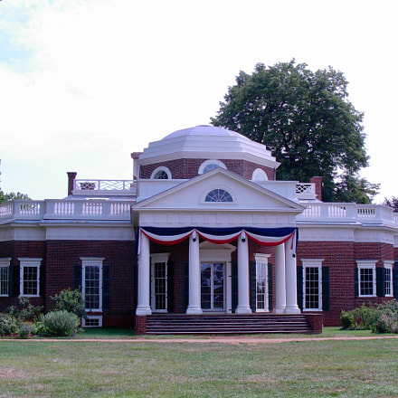 Jefferson's Monticello, Nikon COOLPIX L5