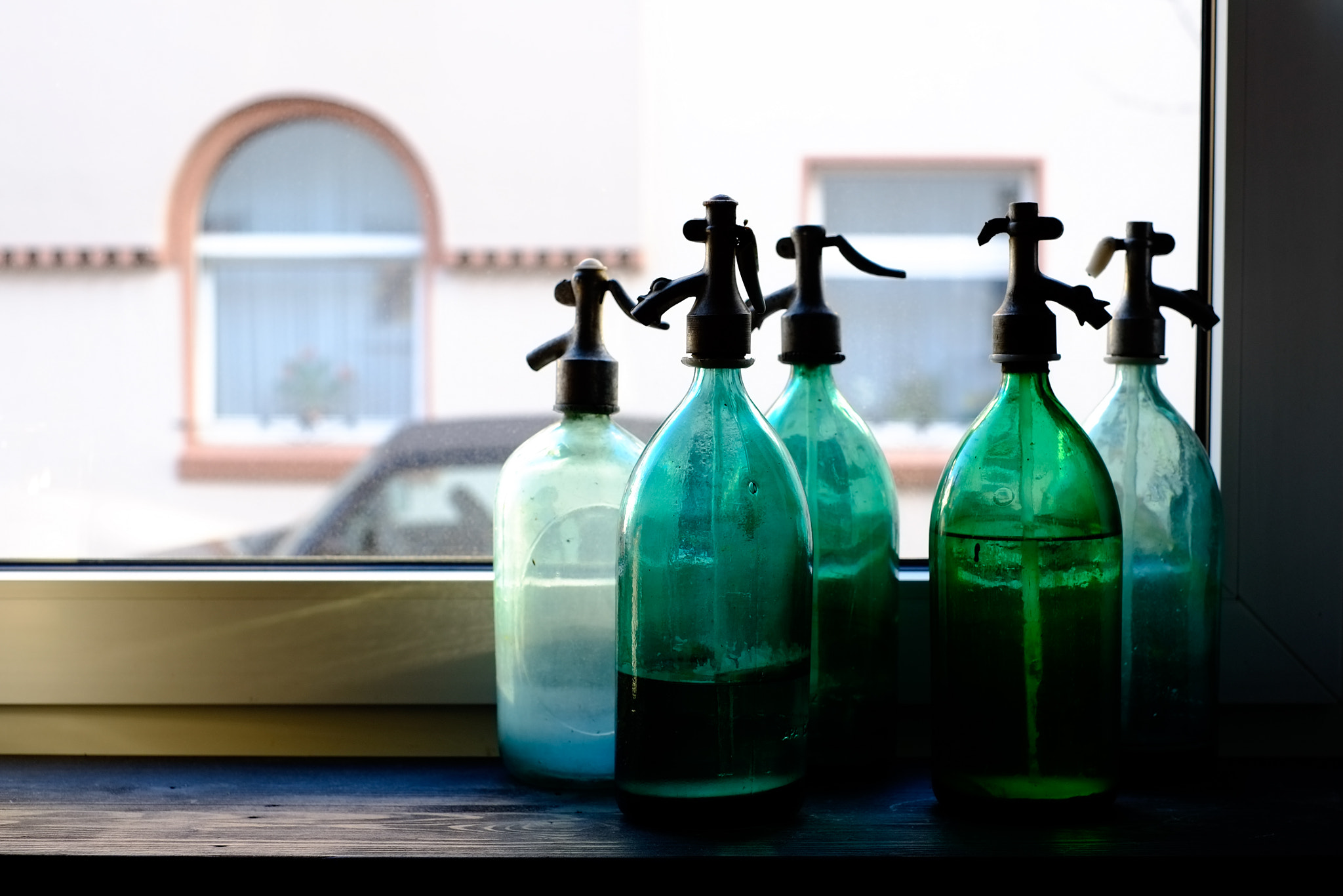 Photograph Siphons in the Window by Edwin van Nuil on 500px