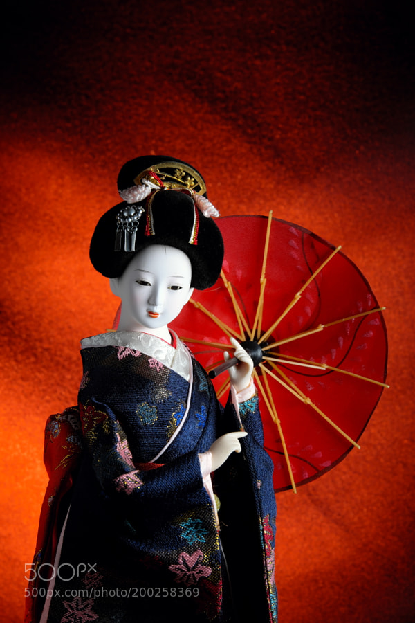 Figurine of a Japanese Geisha