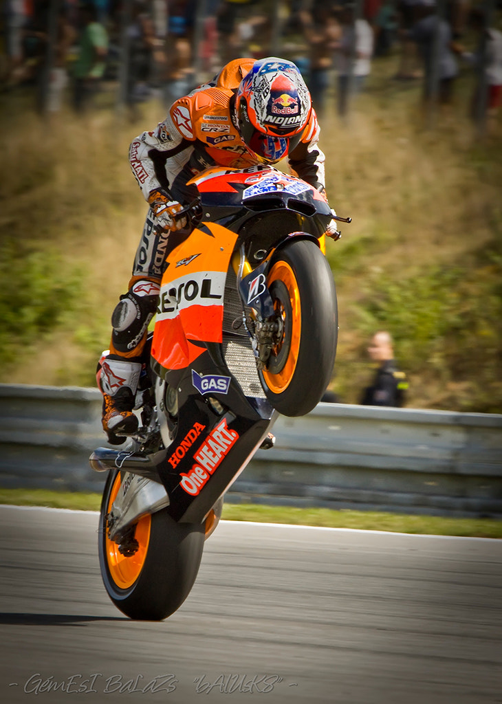 Photograph - Casey Stoner - by balazs gemesi on 500px