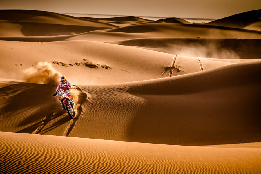 Alone in the desert by Marian Chytka on 500px.com