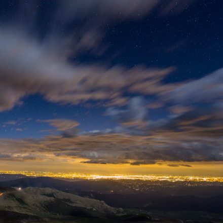 Denver from Mt Evans, Canon EOS 6D, 20mm F1.4 DG HSM | Art 015