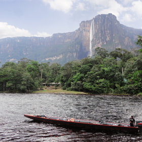 Vista al Salto Angel - Parque Canaima by Enrique Tirado (EnriqueTirado)) on 500px.com
