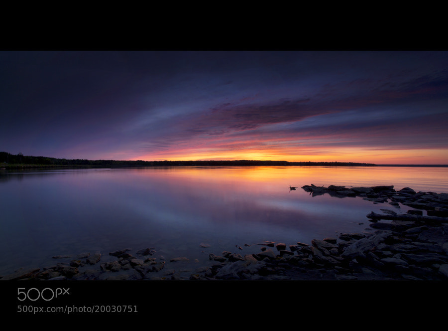 Photograph The Stillness of the Bay by Peter Baumgarten on 500px