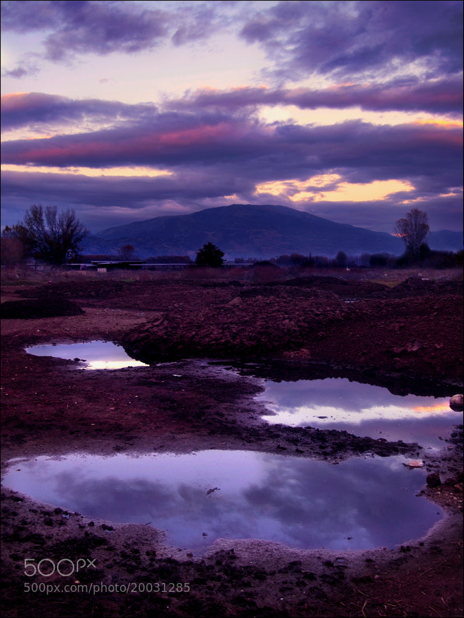 Photograph Muddy Reflection by Kounoupis Anastasios  on 500px