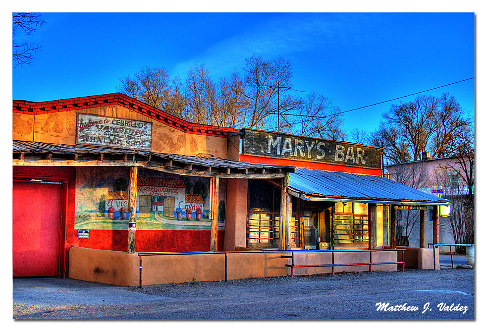Photograph Mary's Bar by Matthew J.  Valdez on 500px