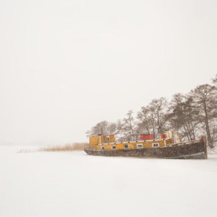 GhostShip in SnowStorm, Canon EOS 6D, Sigma 10-20mm f/3.5 EX DC HSM