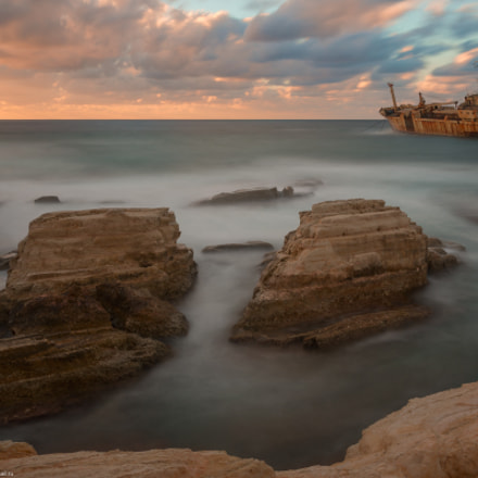 The Edro III Shipwreck, Sony SLT-A99, 16-35mm F2.8 ZA SSM