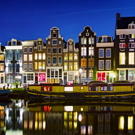 Herengracht by Night, Canon EOS 5D MARK III, Canon EF 16-35mm f/2.8L II