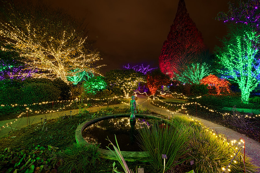 Garden Lights, Holiday Nights by David Kosmos Smith on 500px.com