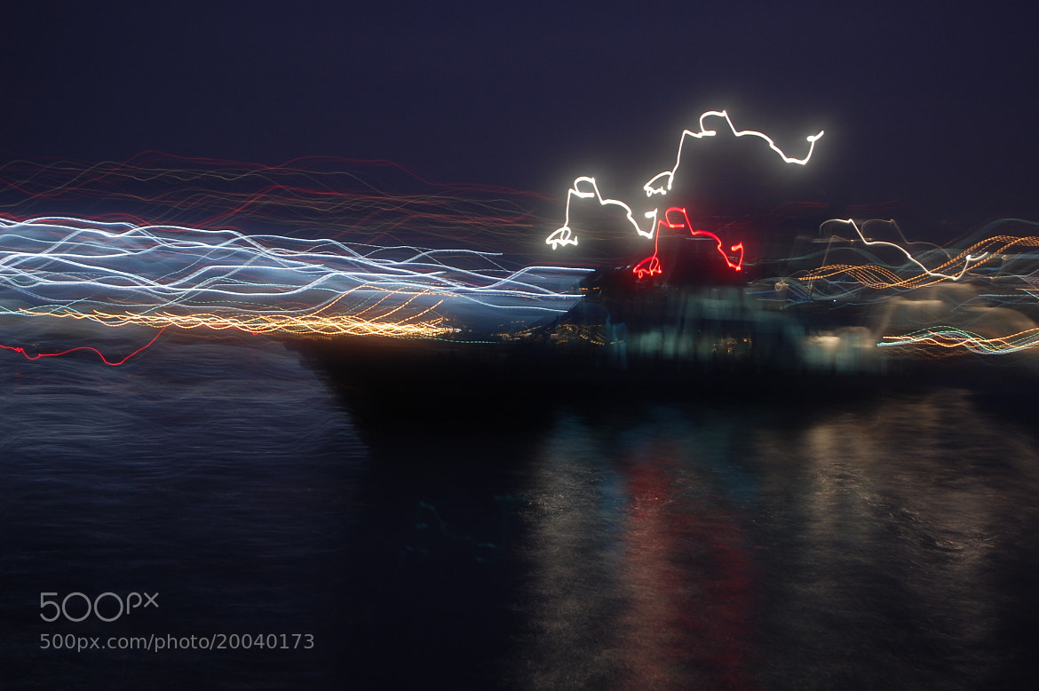 Photograph Boat at Night by David Massey on 500px