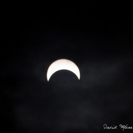 Eclipse, Canon EOS REBEL T3, Sigma 50-200mm f/4-5.6 DC OS HSM + 1.4x