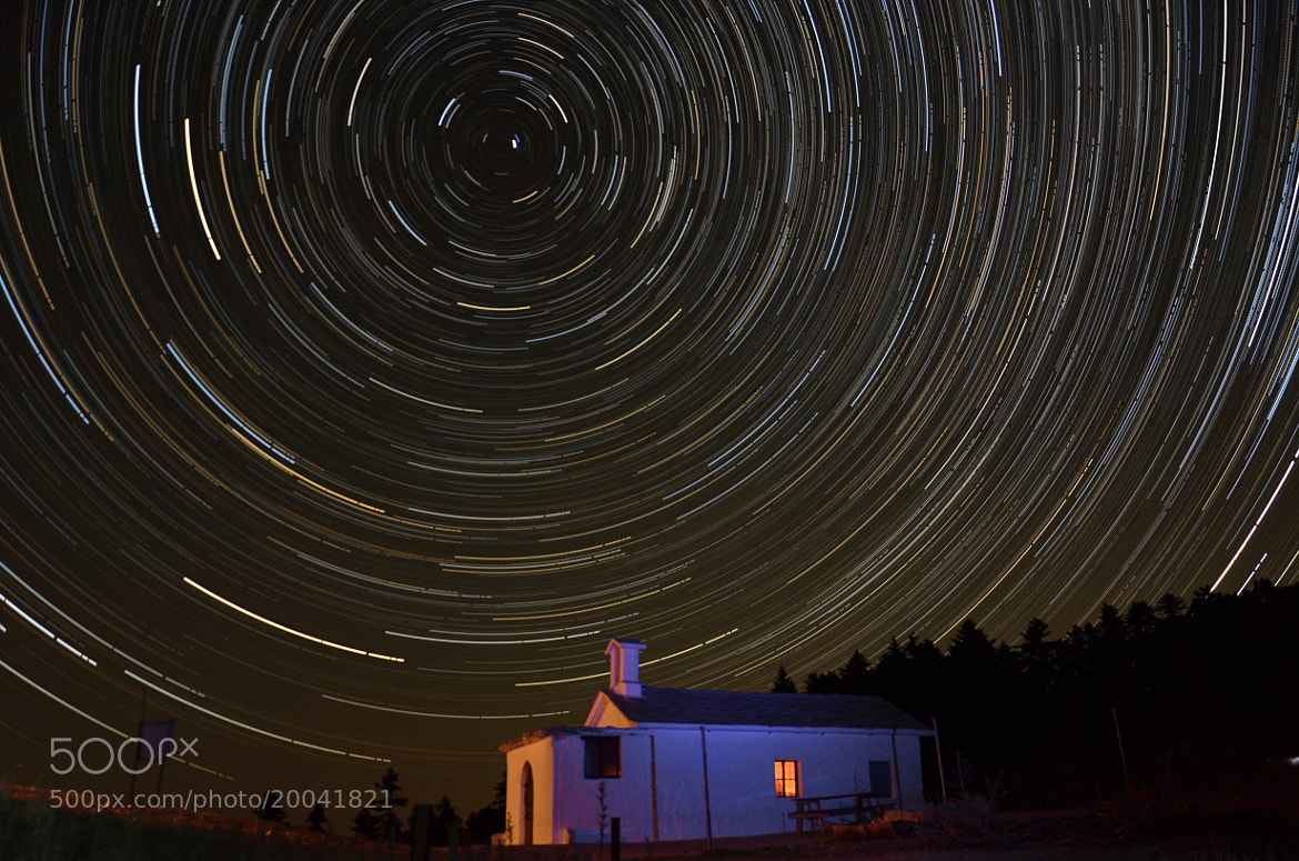 Photograph Startrail...from Greece! by Sergios Georgakopoulos on 500px