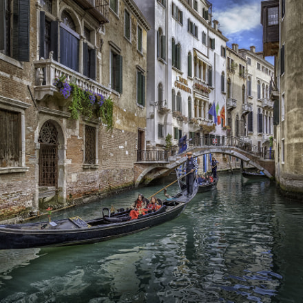 Venice Gondola Canal