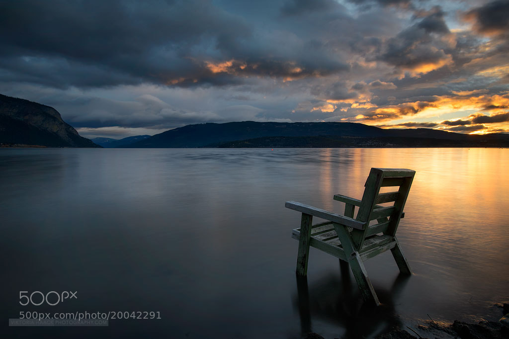 Photograph dark chair by Viktoria Haack on 500px