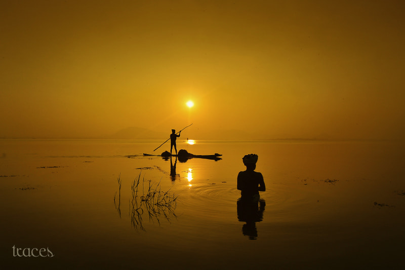 Photograph At the golden stillwaters by Sriram Guruswamy on 500px