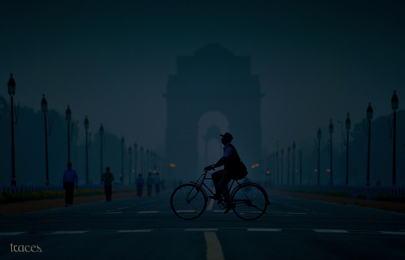 Photograph Morning cycling in Delhi by Sriram Guruswamy on 500px