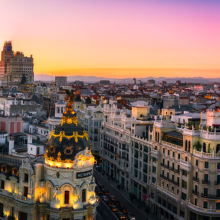 Madrid: Sunset Panorama