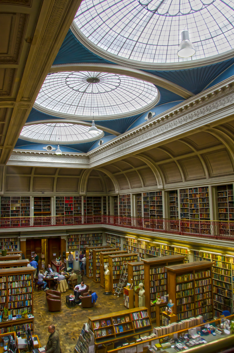 Photograph The Library by Phil Robson on 500px