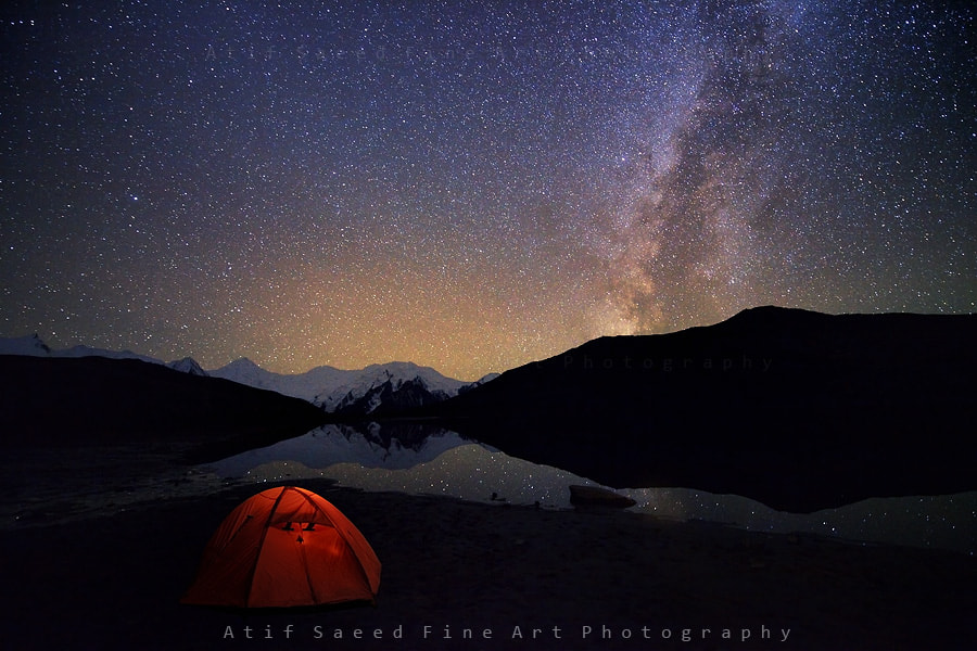 Photograph Night with the Stars... by Atif Saeed on 500px