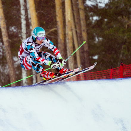 Ski cross, Canon EOS 7D, Canon EF 70-200mm f/4L