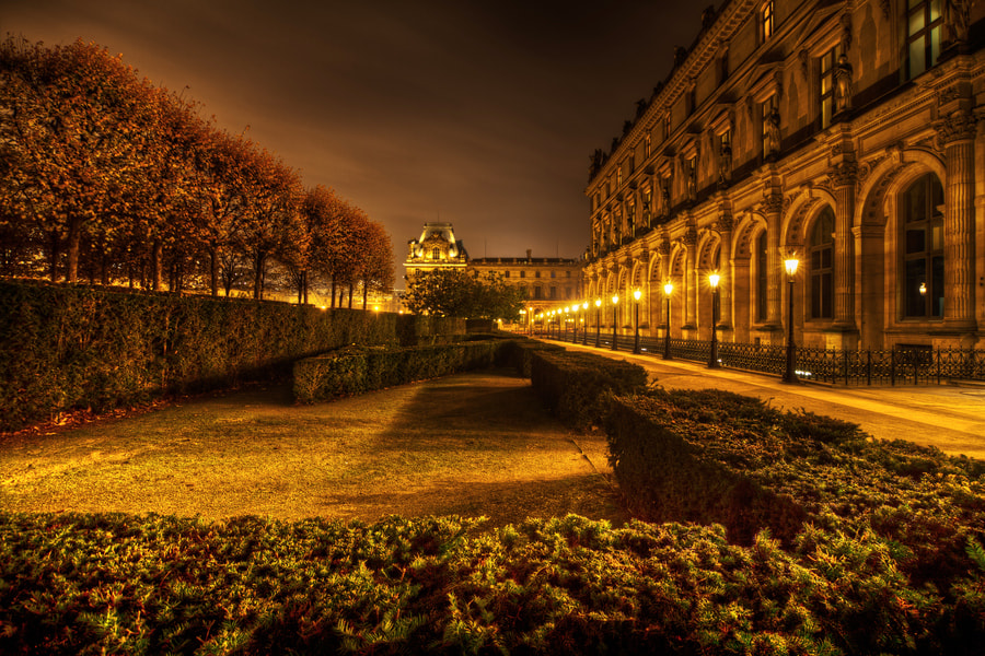 Photograph glowing lights in Paris by Christian Müller on 500px