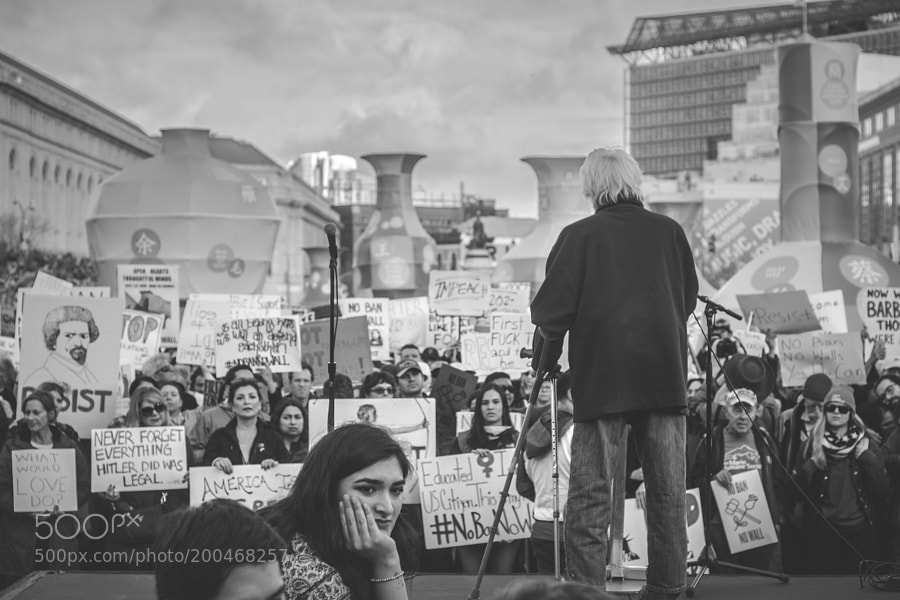 #NoBanNoWall San Francisco - the last picture