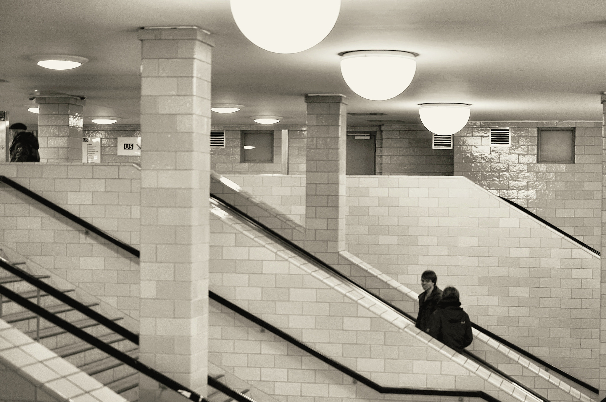 Photograph underground stairway by the freelens on 500px