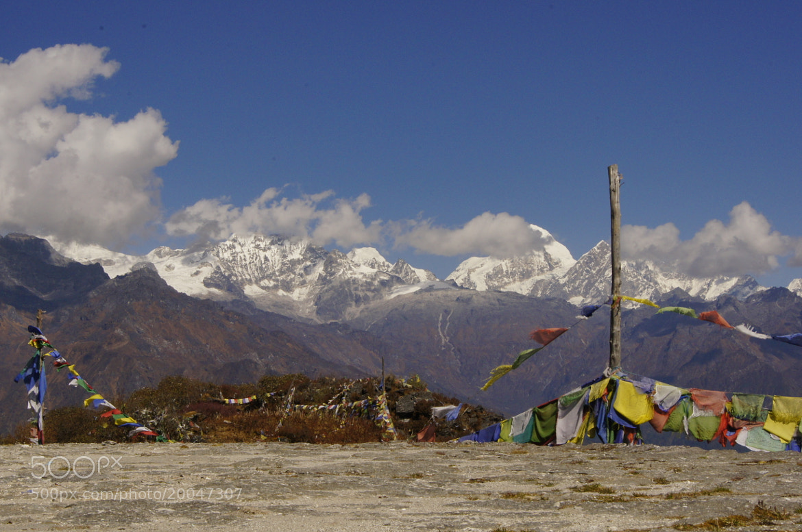 Photograph land and the Himalaya by Afzal Khan on 500px