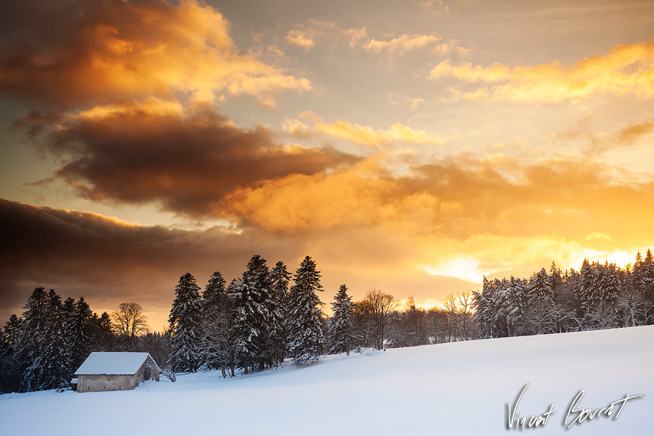 Photograph Sky is on fire by Vincent BOURRUT on 500px