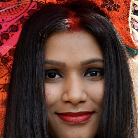 Indian girl in Rajasthan, Sony ILCE-7RM2, Sony FE 24-70mm F4.0 ZA OSS