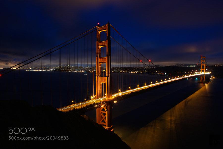 Photograph Golden Gate by Patrick Zander on 500px