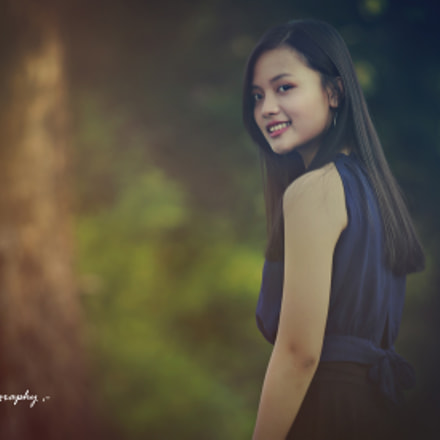 With a smile, Canon EOS 6D, Canon EF 70-200mm f/2.8 L
