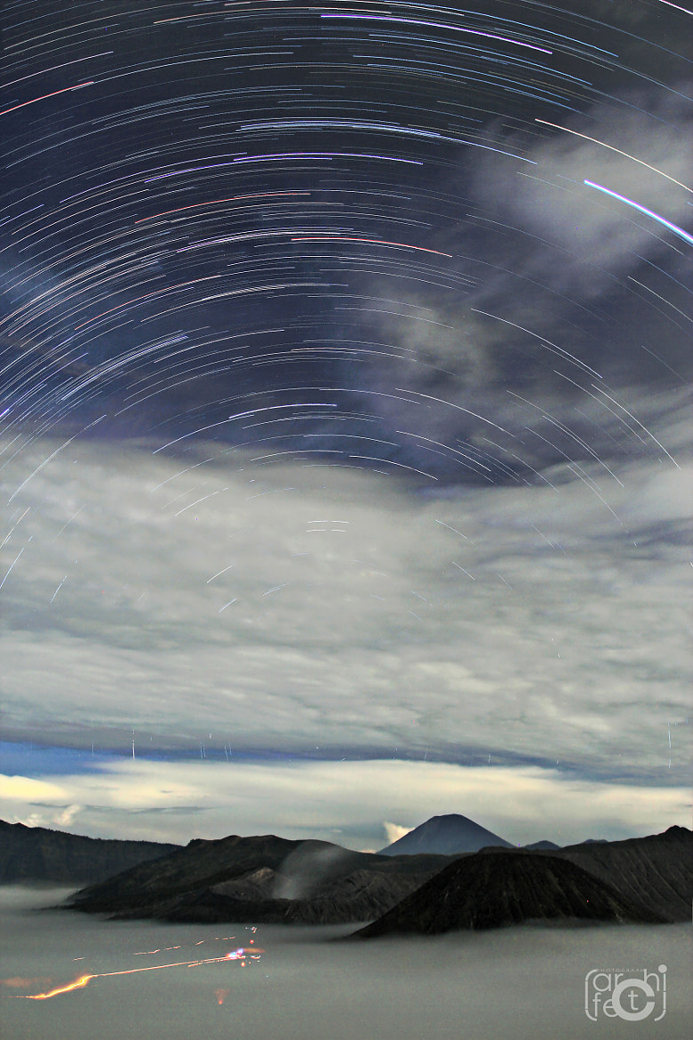 Photograph star trail of mount bromo by Saeev Zuhri on 500px