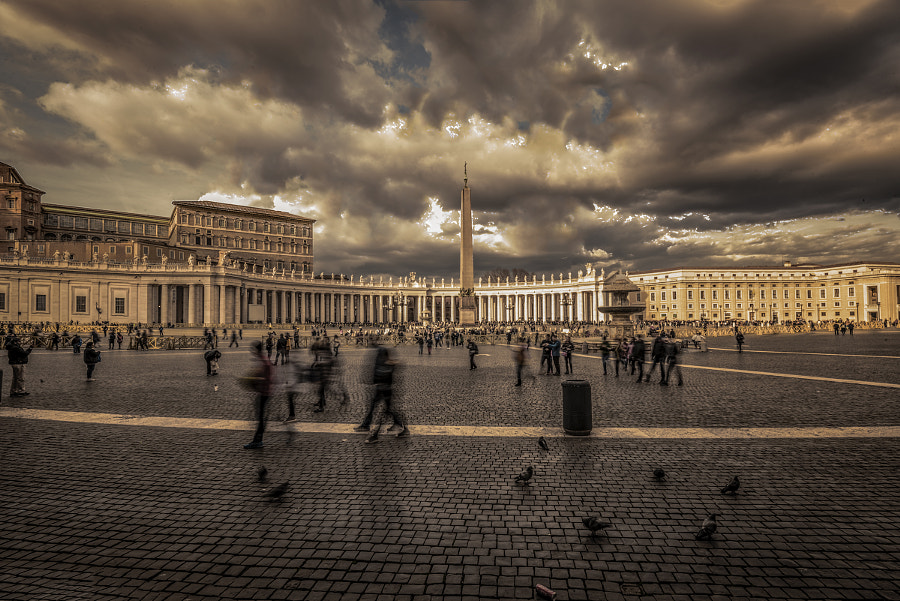 best cameras - Roma. Piazza S.Pietro by Carlo Braghiroli  (carbrag) on 500px.com