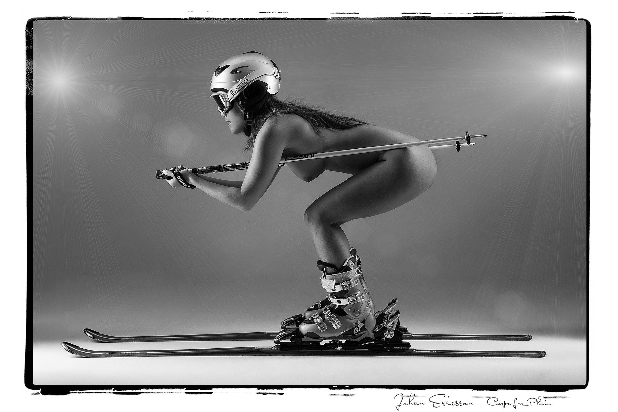 Photograph Skiing by jo er on 500px