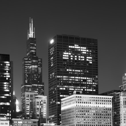 Night in Chicago, Canon EOS 80D, Canon EF 24-105mm f/4L IS USM