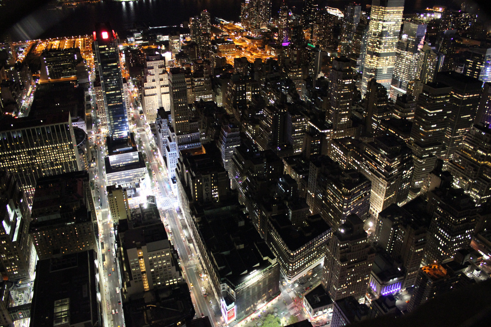 Photograph New York at Night by Poppy Rose on 500px
