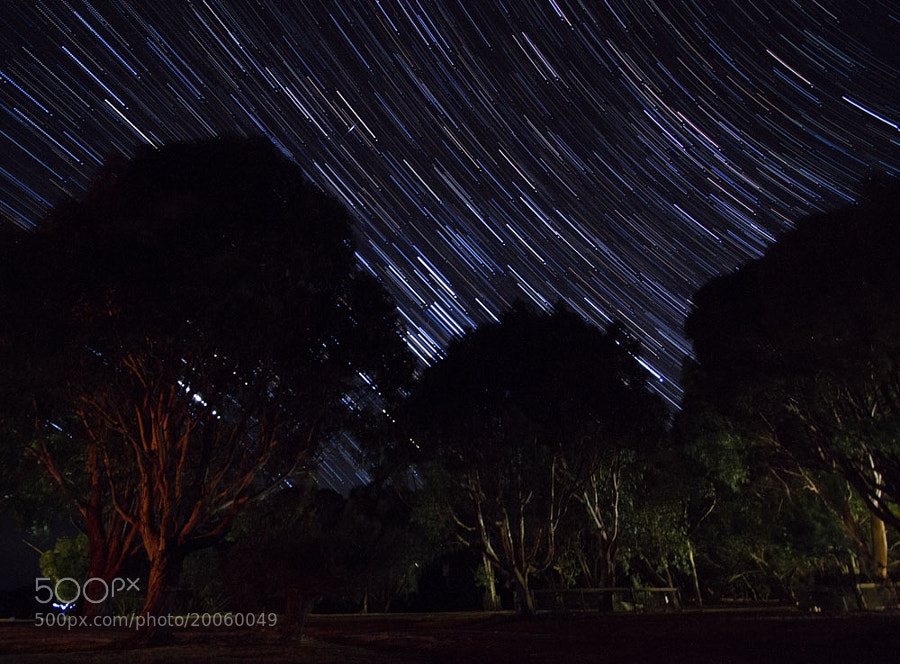 Startrails over Kangaroo Island by Hans Fischer (hansfischer)) on 500px.com