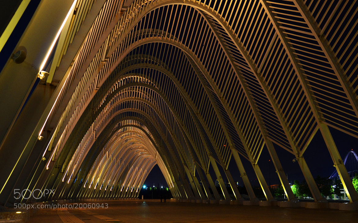 Photograph O.A.K.A. Stadium,Athens,Greece by Sergios Georgakopoulos on 500px