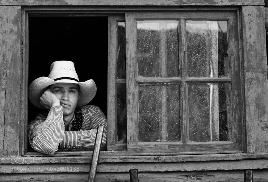 Photograph Cowboy  by Jennifer Meyers on 500px