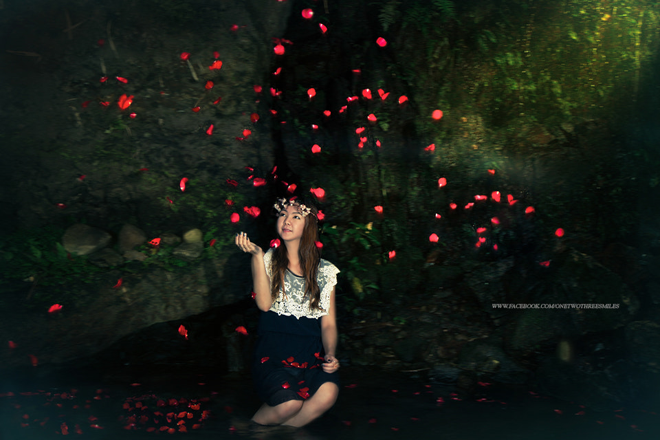Photograph woman and Rose by ChaoPavit123Smiles on 500px